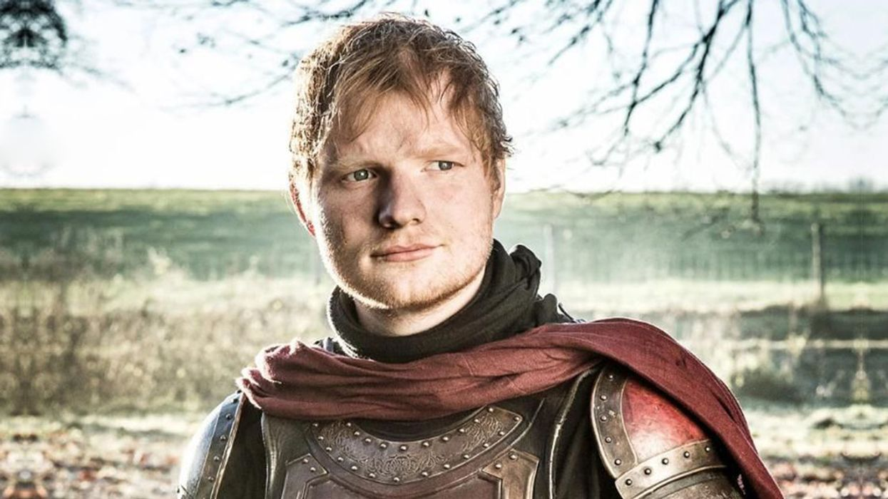 Everyone Freaked Out About Ed Sheeran's Cameo On Game Of Thrones, Here's The Video