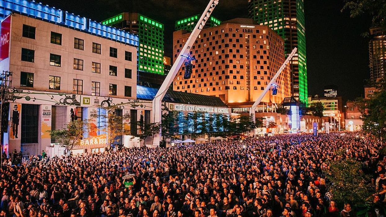 """Montreal's Quartier Des Spectacles Will Be Transformed Into An """"Open Air Club"""" This July"""