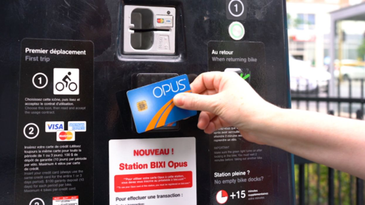 It's Official, You Can Now Rent BIXI Bikes With Your OPUS Card In Montreal