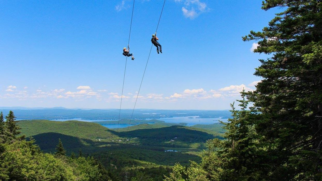 """This Insanely High """"Zipline"""" Near Montreal Is Something You Need To Conquer"""