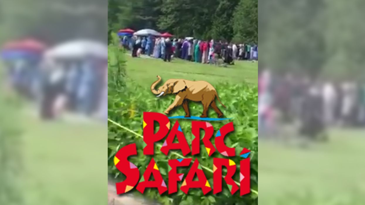 This Video Of People Praying At Parc Safari Is Going Viral And The Reaction Is Appalling