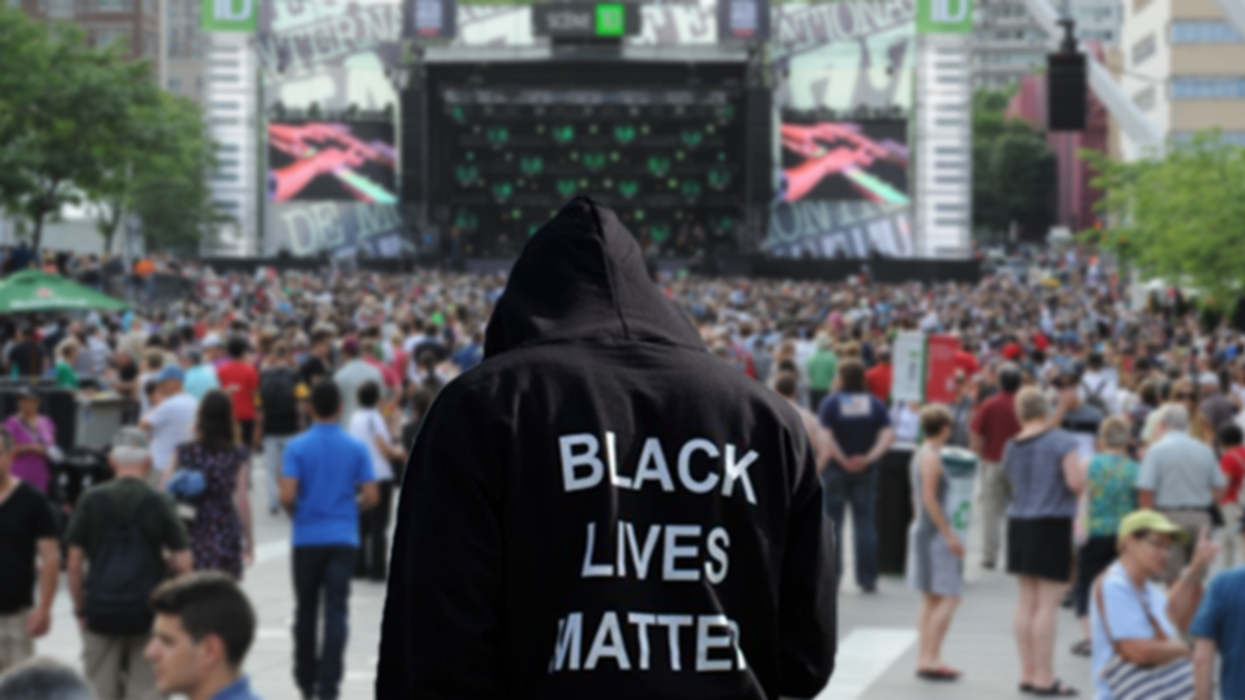 Black Lives Matter Protesters Taking Over The Stage At Montreal Jazz Fest (Video)