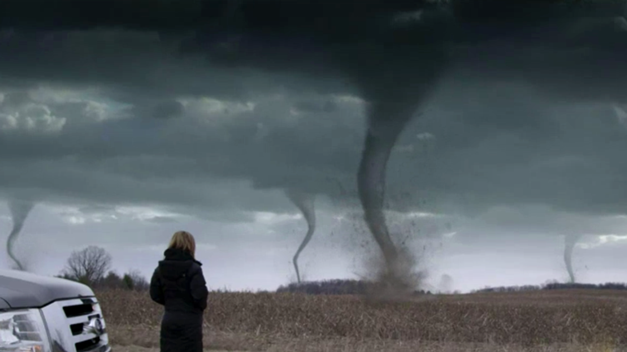 Insane Video Showing Not One, But Four Tornadoes Near Montreal
