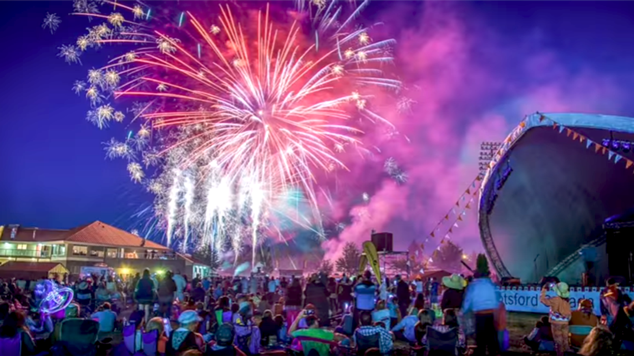 """Video Showing All The """"Canada Day 150"""" Firework Celebrations Around The Country"""