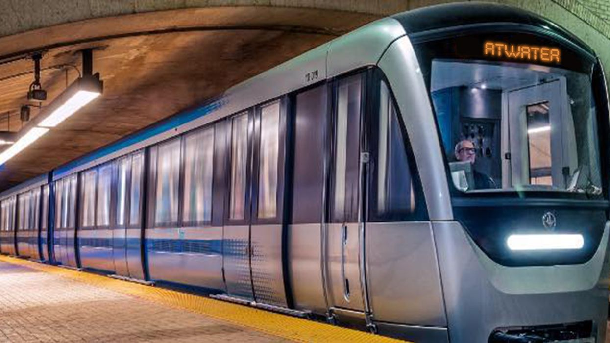 It's Official, Montreal's STM AZUR Metro Trains Are Now Running On The Green Line