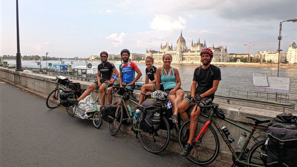 These 5 Montrealers Are Biking 10,000 km Across Europe To Raise Money For Their Best Friend With MS