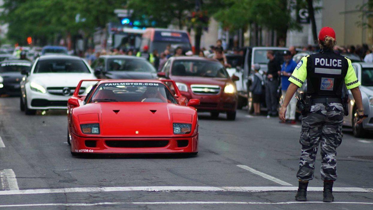 40 Photos Of Ferraris, Lamborghinis, & Porsches Invading Downtown Montreal For Grand Prix Weekend