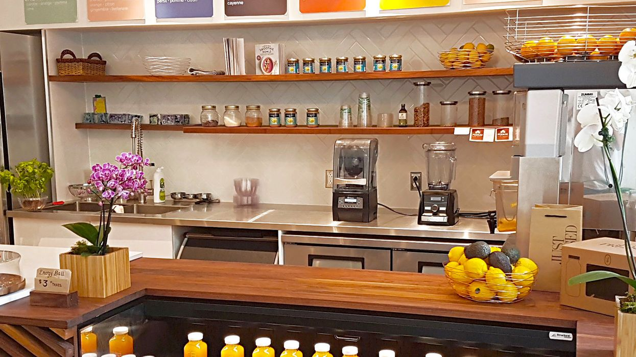 An All New 100% Organic Juice Bar Is Opening Downtown Montreal This Week