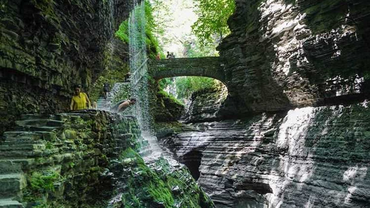 This Hidden Grotto Close To Montreal Looks Like Something Out Of A Fantasy Movie