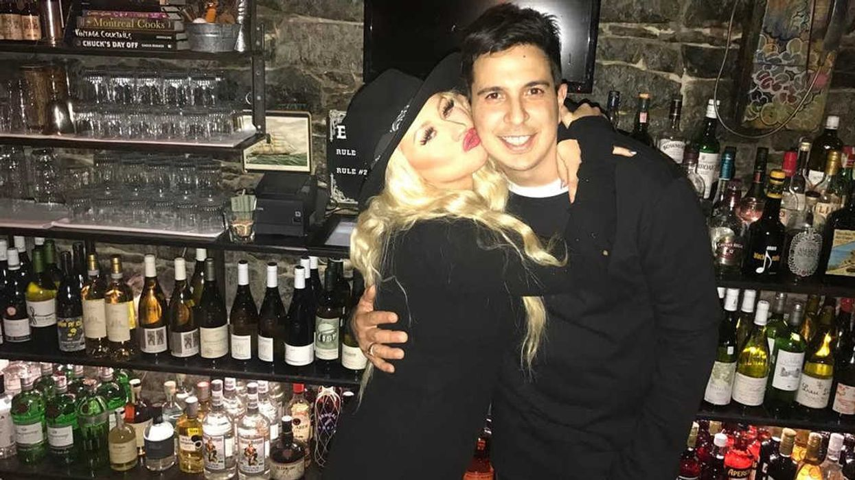Photos Of Christina Aguilera Partying In Montreal