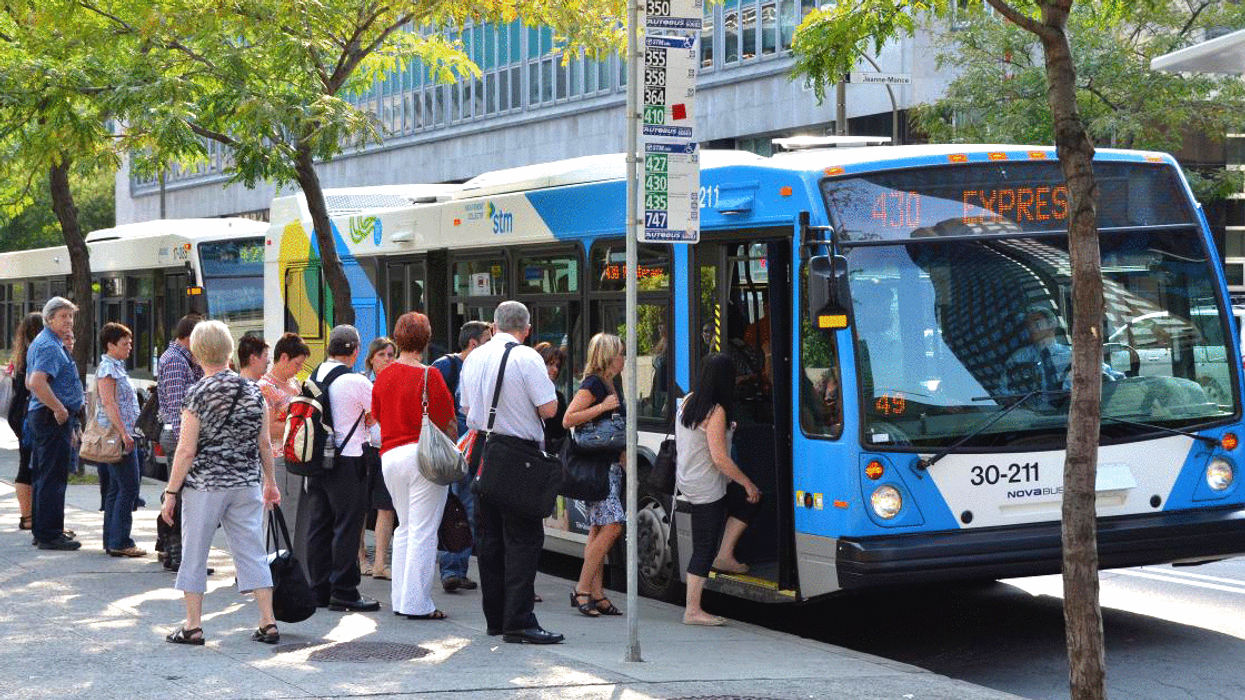 Montreal STM Buses Will Now Let You Get On Through The Back Door
