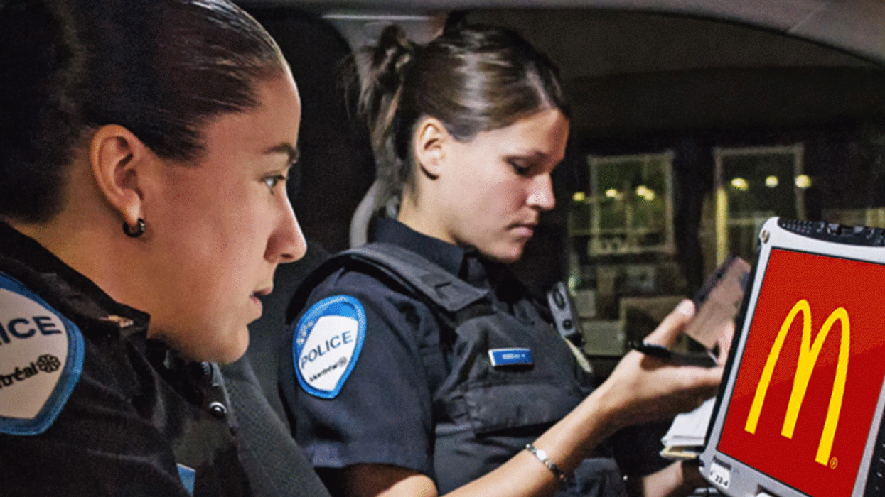 """You Can Now Grab A """"Coffee & Donut"""" With A Montreal Cop, Just For Fun"""