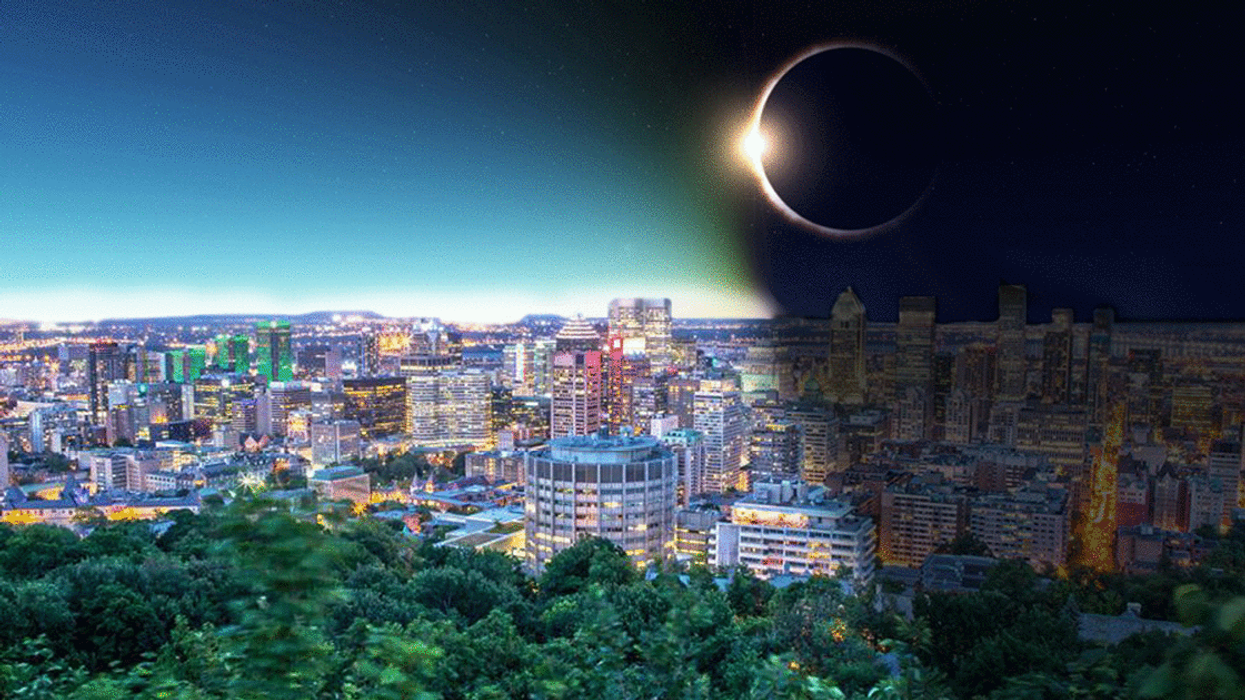 A Total Solar Eclipse Will Be Visible Over Montreal This Summer