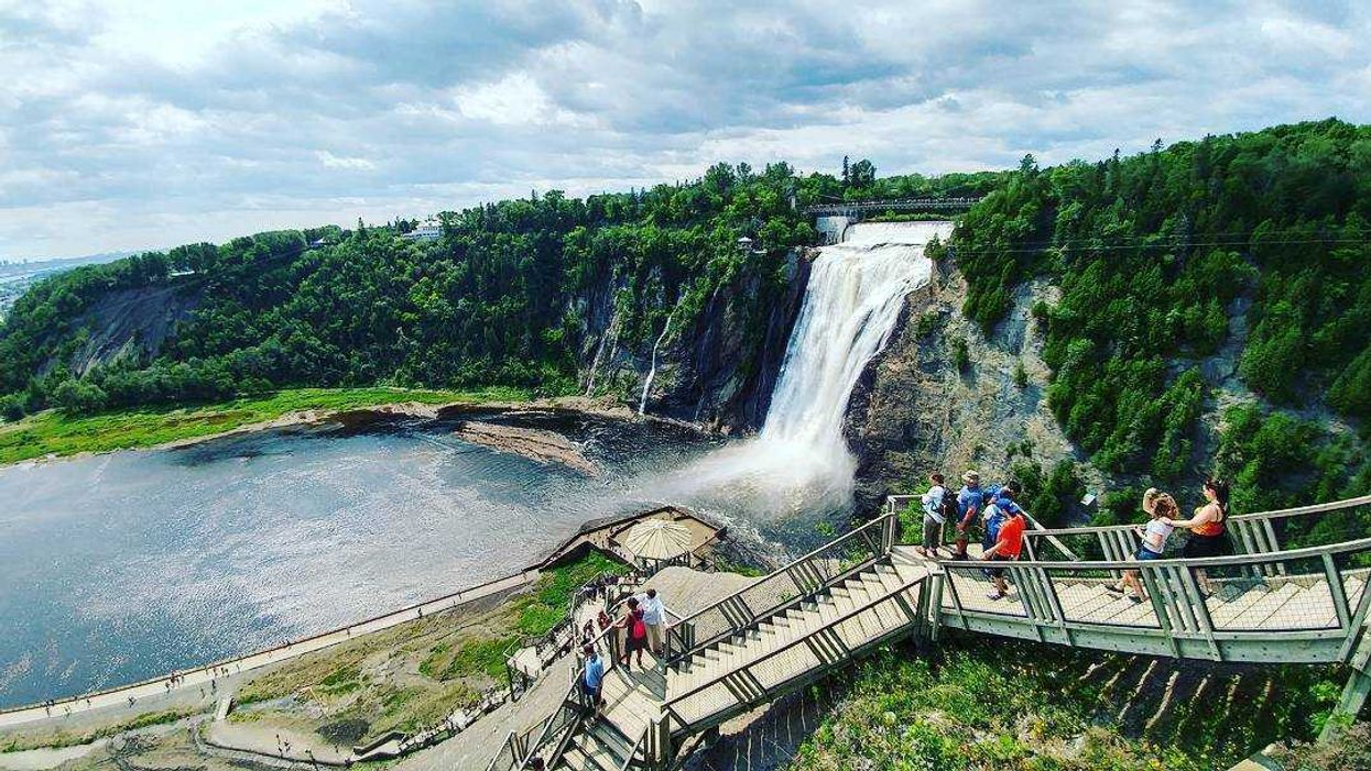 This Stunning Quebec Bike Path Ends At A Waterfall (15 Photos)