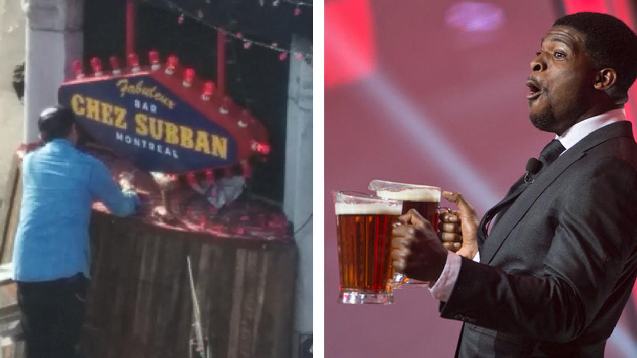 Montreal's New P.K. Subban Theme Bar
