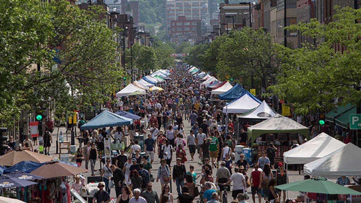 Montreal Closing Off Mont-Royal Avenue For Massive Sidewalk Sale Next Month