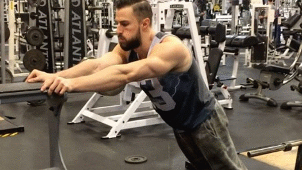 Yup, So Watching This Montreal Man Working Out Is As Impressive As It Sounds