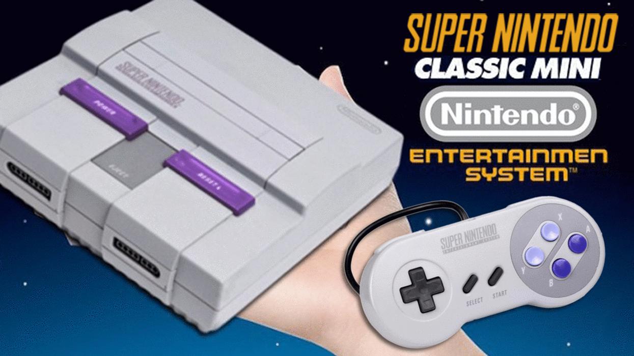 Nintendo Releasing SNES Classic Mini Edition