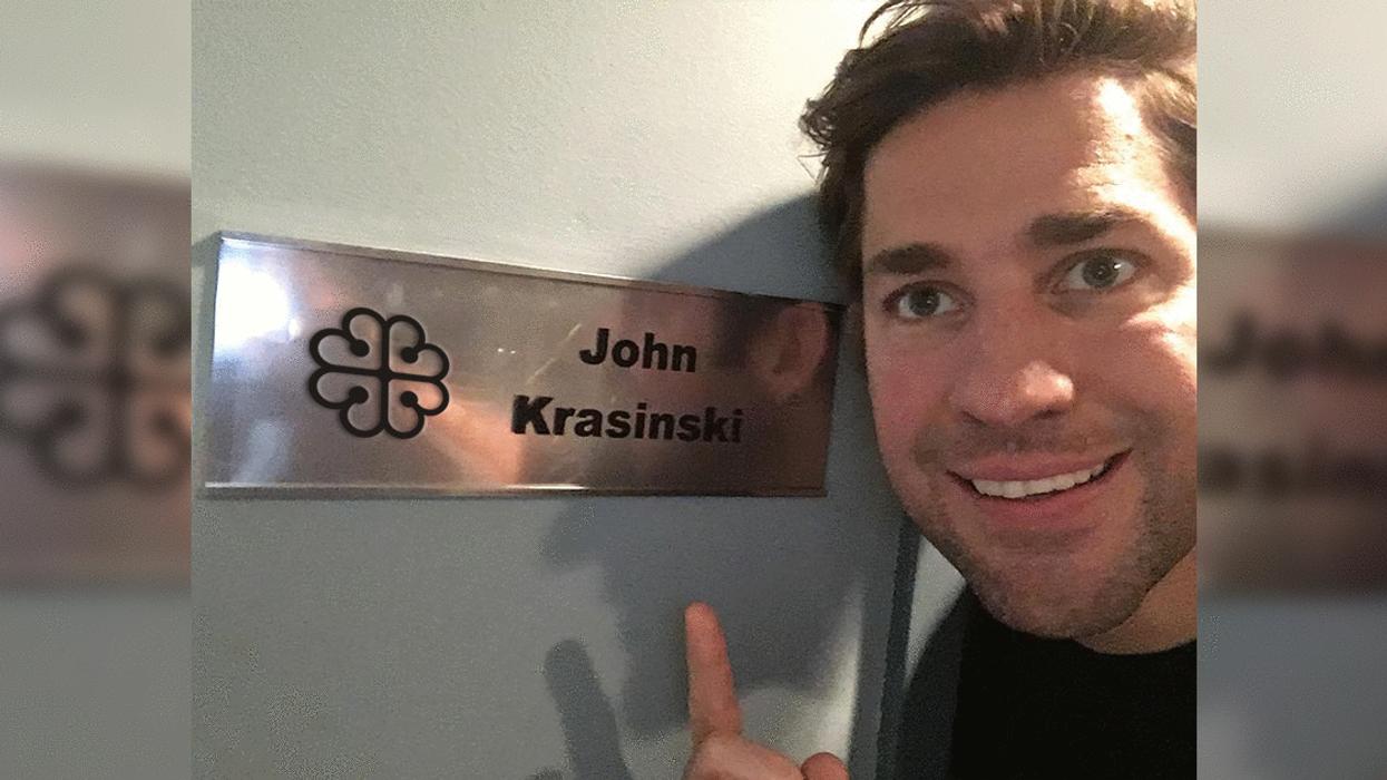Photos Of John Krasinski In Montreal Filming On Set
