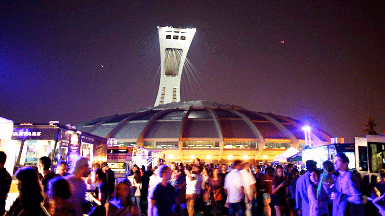 50 Food Trucks Taking Over Montreal's Olympic Stadium Next Month