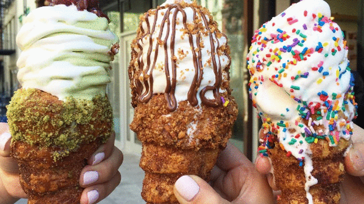"""You Can Now Eat """"Churro Cones"""" In Montreal"""