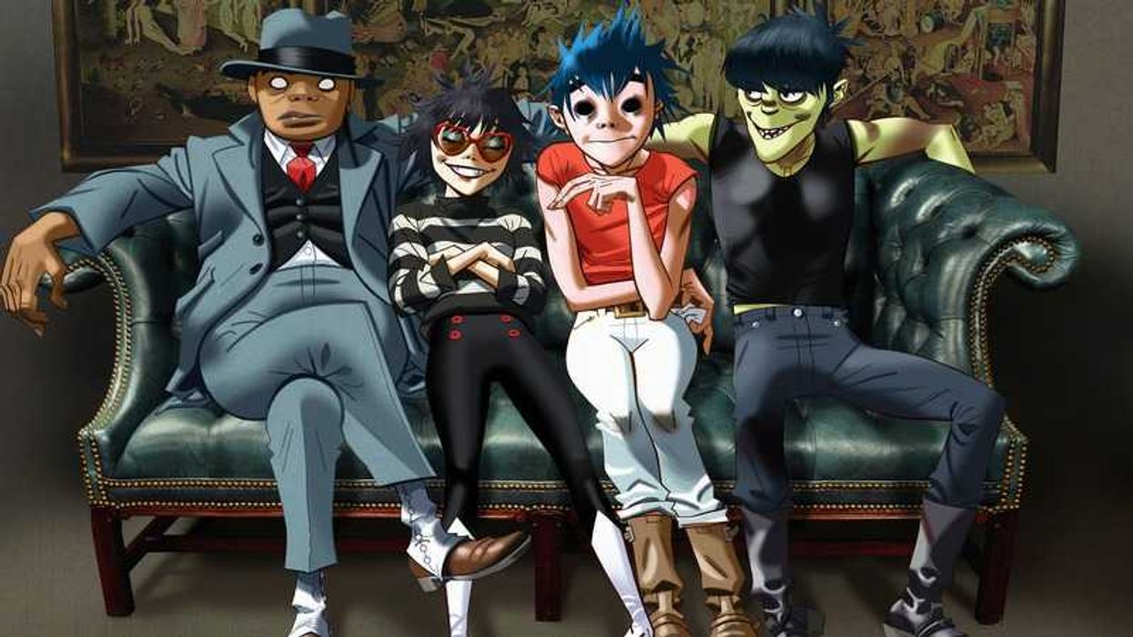 It's Official, Gorillaz Are Coming To Quebec