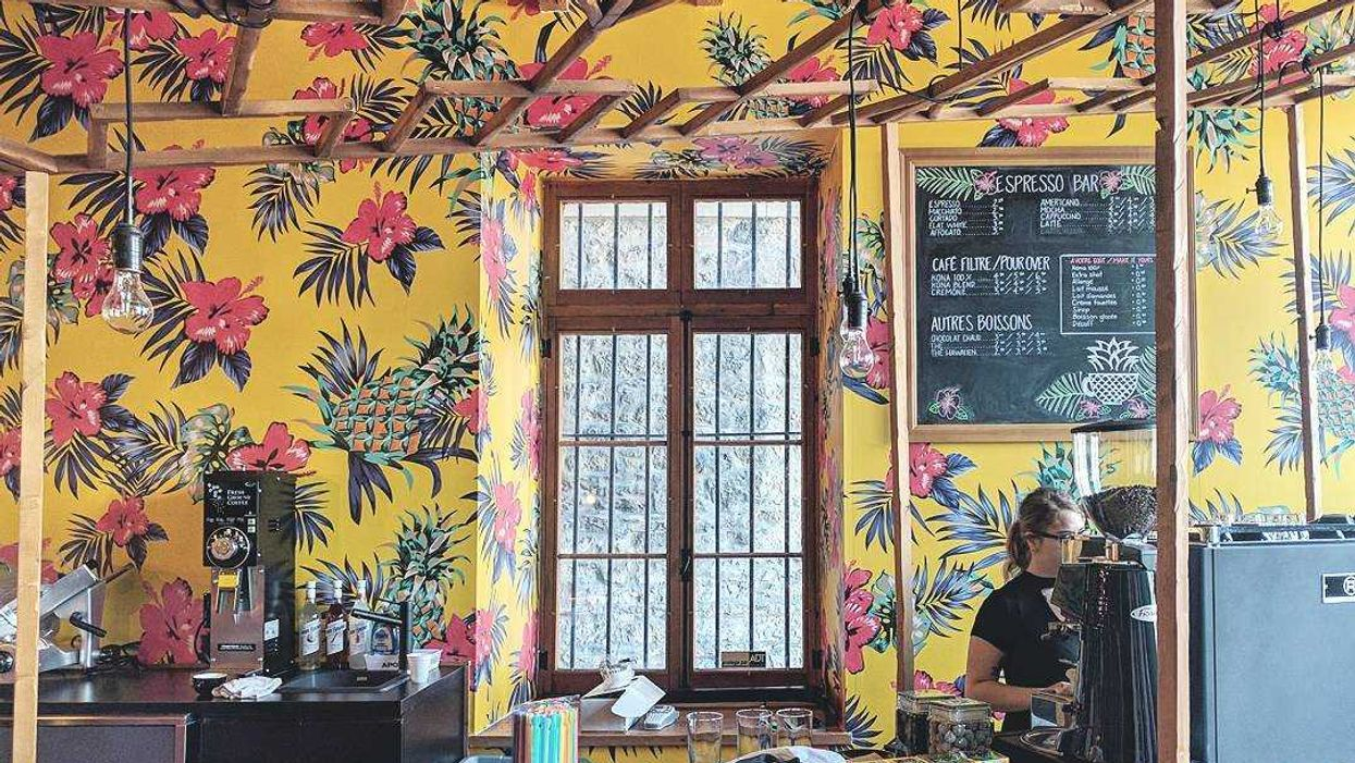 Montreal Opening All-New Hawaiian Theme Cafe