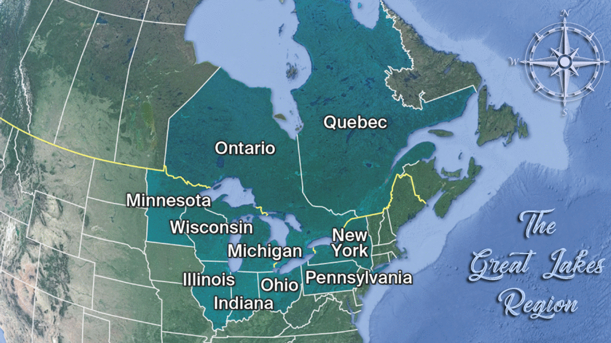 Ontario, Quebec & Eight U.S. States Could Form World's 3rd Largest Country