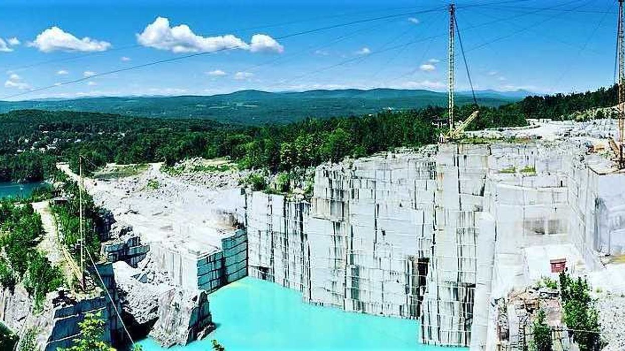 The Insane Quarry Only 2 Hours Away From Montreal You Can Climb