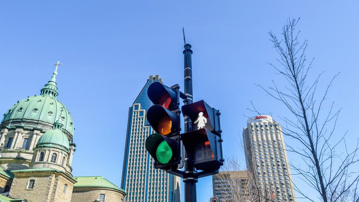 Montreal Could Replace Male Crossing Lights With Female Crossing Lights