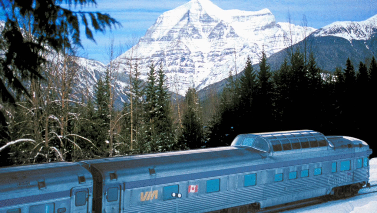The Scenic Canadian Rockies VIA Rail Train Trip Is Freaking Unreal!!! (10 Photos)