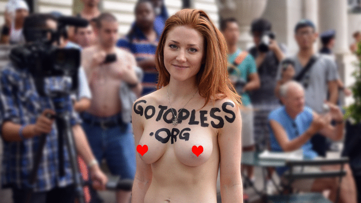 Women In Montreal Will Be Allowed To Go Topless In Public This Summer 2017