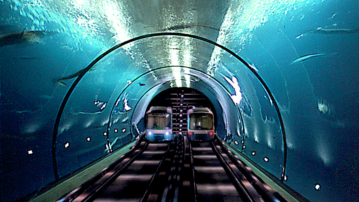 China To Build 13,000 KM Underwater Railway Line To Canada & United States