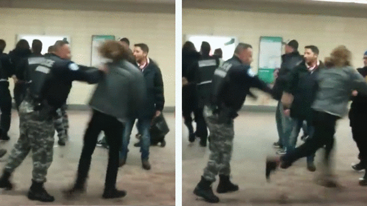 Video Showing Police Brutality At Montreal's Saint-Laurent Metro Station