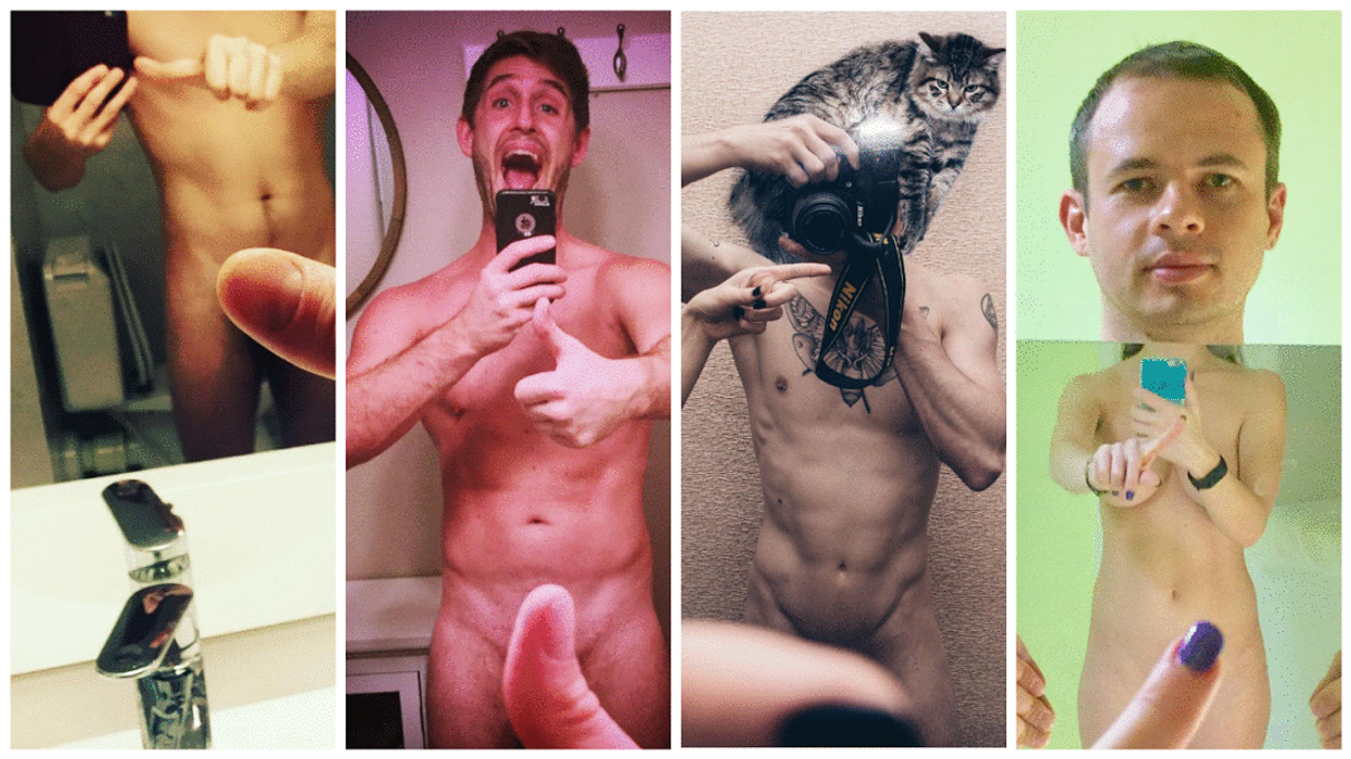 All The Photos You Don't Want To See Of Guys Doing The #OneFingerSelfieChallenge