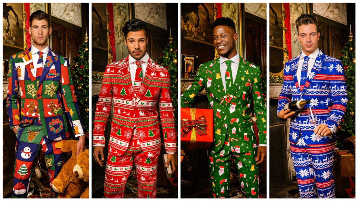 The Bay Is Now Selling The Most Badass 3 Piece Christmas Suits For $129