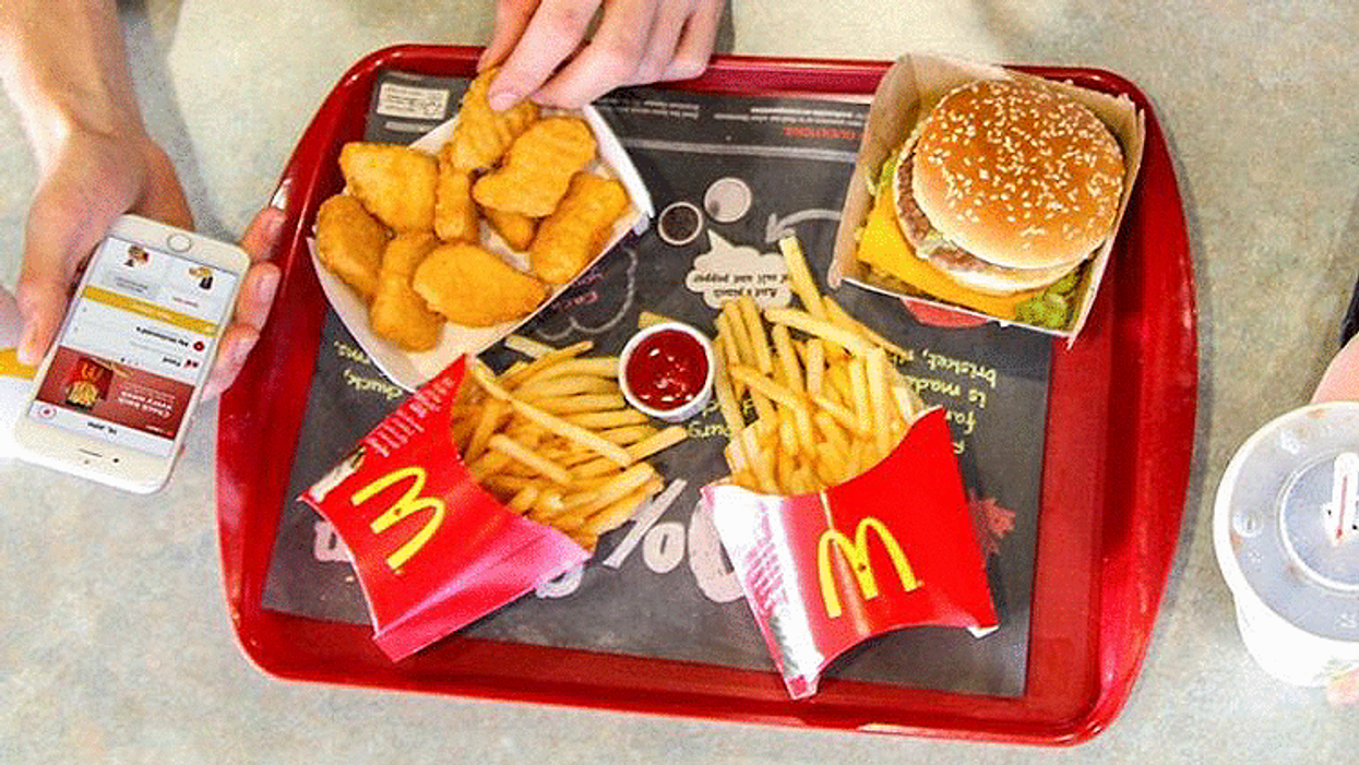 You Can Now Get McDonald's Delivered To Your House In Montreal