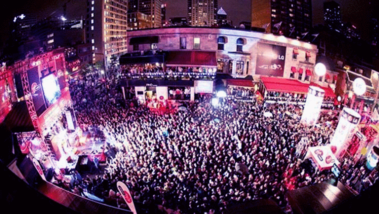 All The Photos From Montreal's Insane EDM Festival On Crescent Street You Need To See To Believe