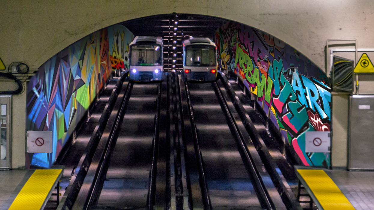 Montreal Should Let Street Artists Paint The Metro Tunnels