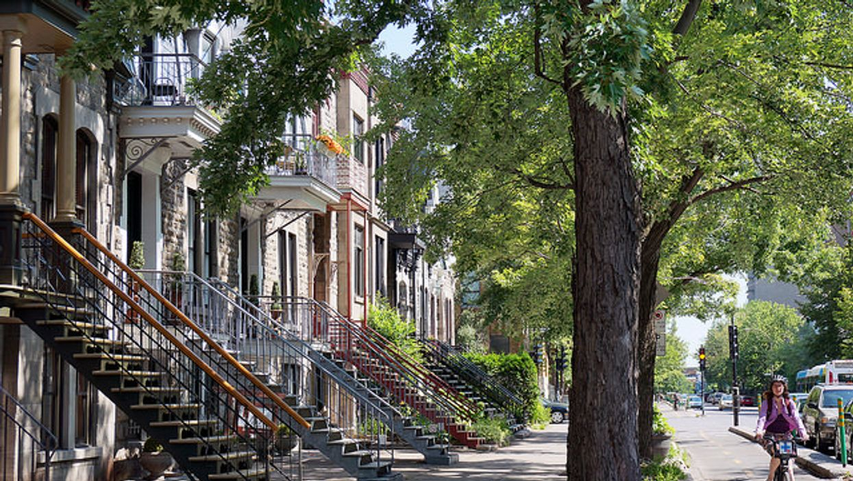 Why Montreal Has Outdoor Staircases