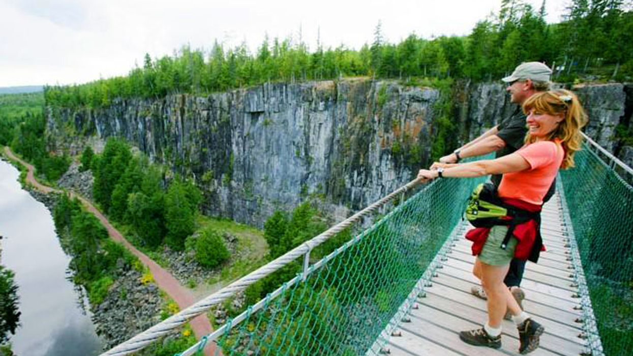 Canada's Longest Suspension Bridge Is The Most Breathtaking Place In The Country