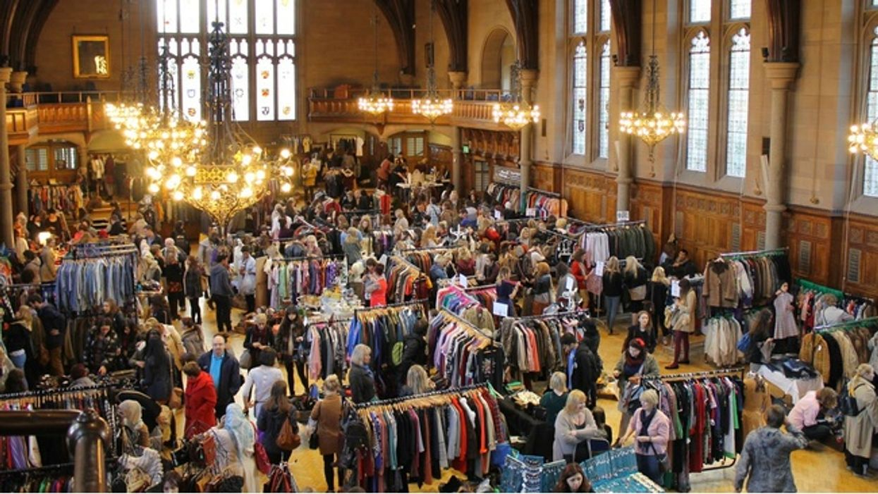Montreal's Biggest Vintage Thrift Sale Is Happening This January