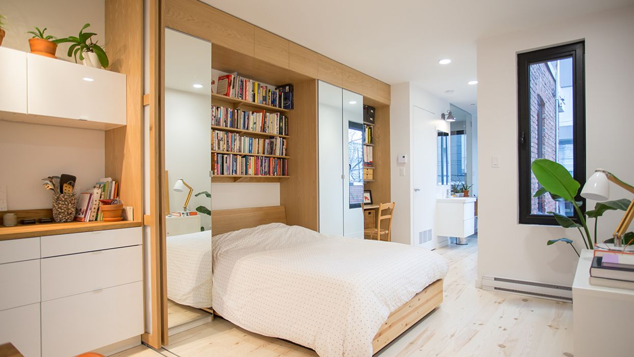 """Montreal's All-New """"Shoebox Apartment"""" Is Proving Size Really Doesn't Matter"""