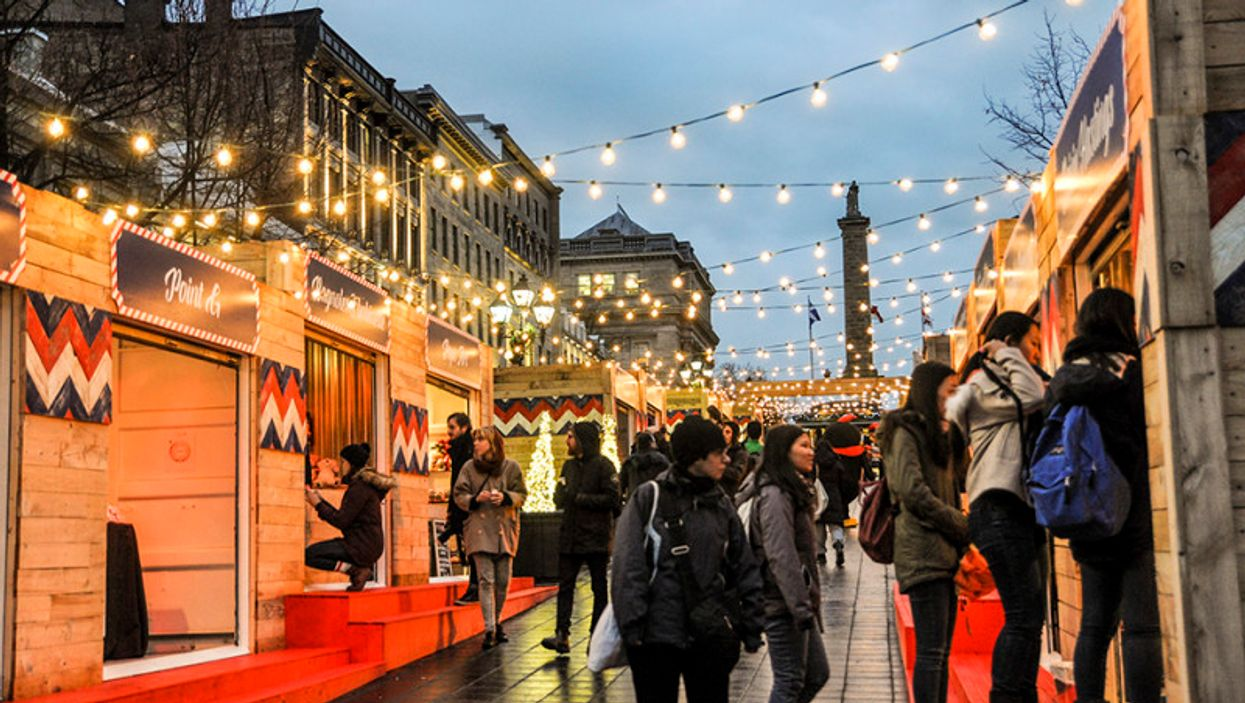 """Old Montreal Now Has A """"Christmas Market"""" For The Holidays"""