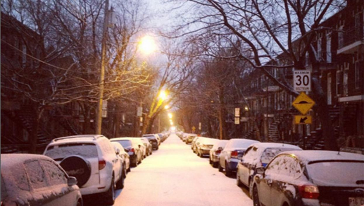 Montreal Wakes Up To An Unexpected Snowfall This Morning (19 Photos)