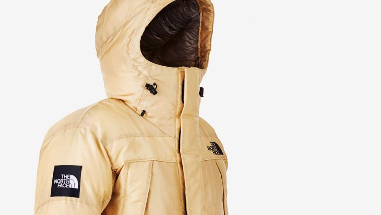 The North Face Releases A Coat Made Of Synthetic Spider Web