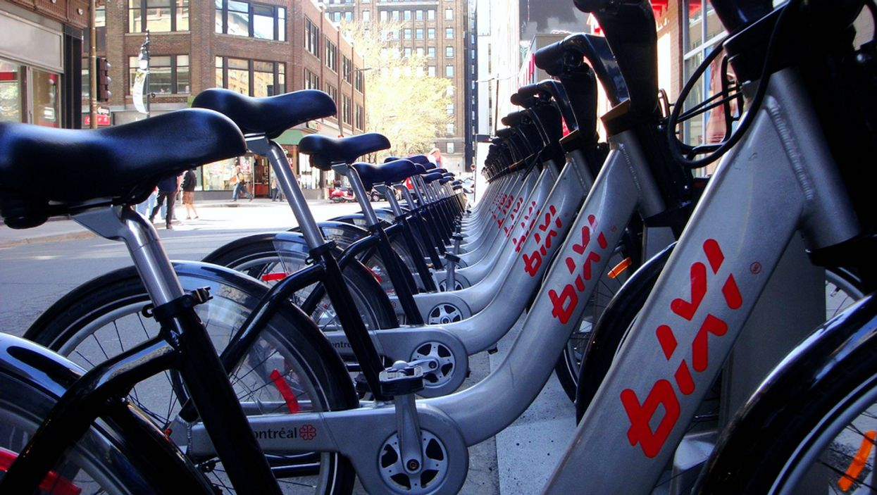 """This Is Where Montreal's Bixi Bikes Go To """"Hibernate"""" During The Winter"""