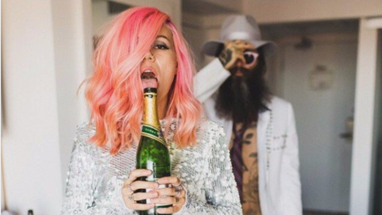 Drinking Champagne Can Keep You Young Forever