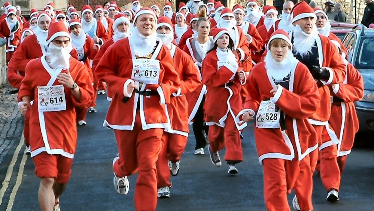 """Montreal Is Hosting Its First-Ever """"Santa Clause Race"""" This Weekend"""