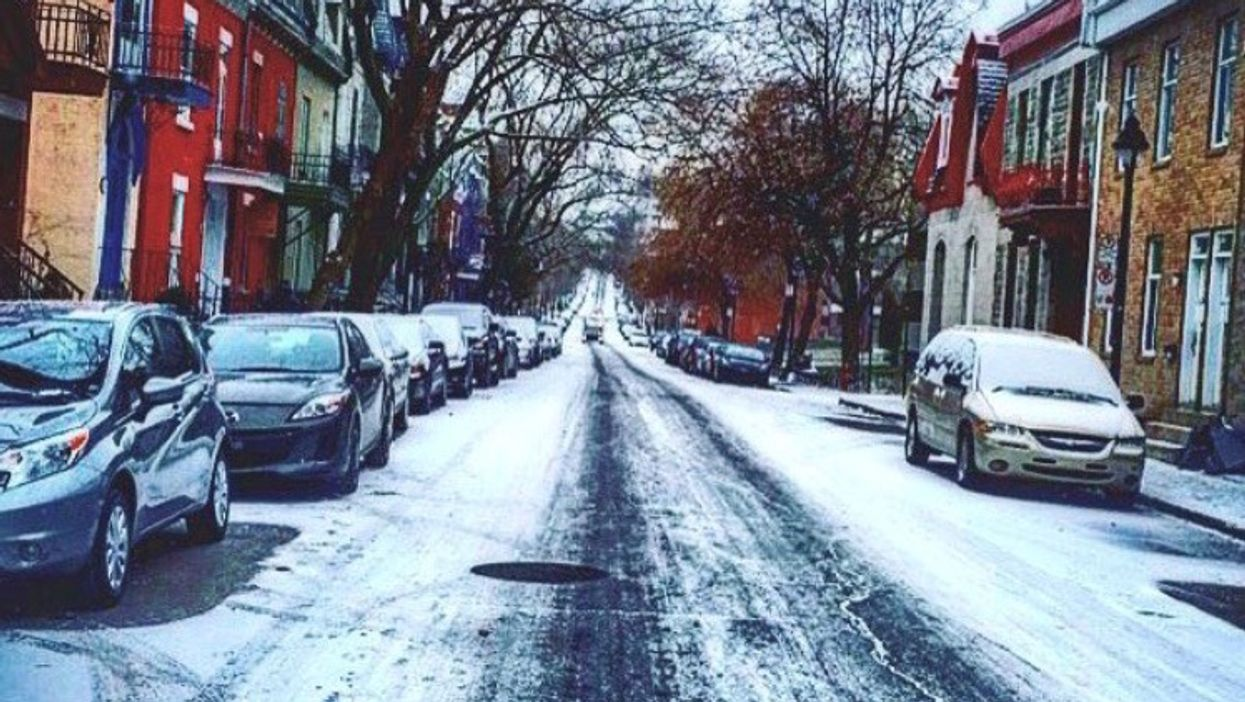 Best Pictures From Montreal's First REAL Snowfall